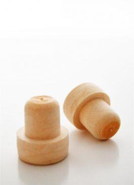 Dop tip cognac plastic sintetic 20*20 mm